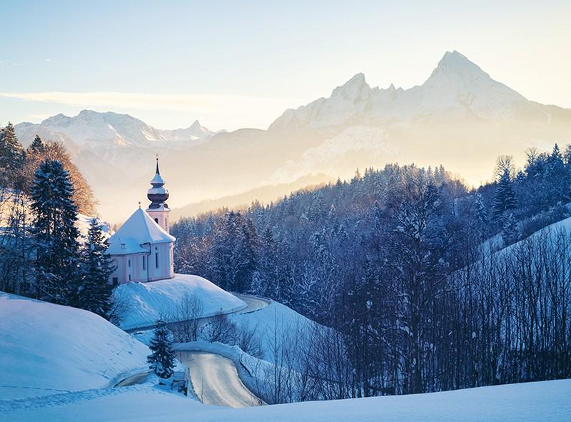 Maria Gern im Winter