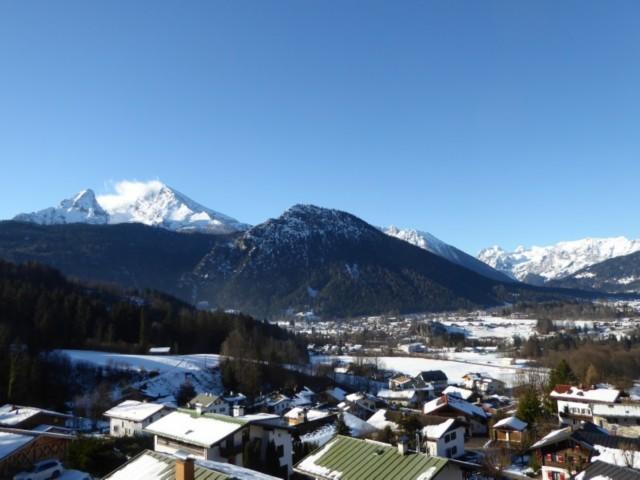 Ausblick Berchtesgadener Alpen